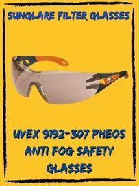 uvex 9192-307 smoke safety glasses