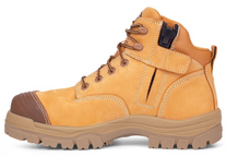 BOOTS OLIVER 45630Z 130MM WHEAT ZIP SIDED HIKER PAIR