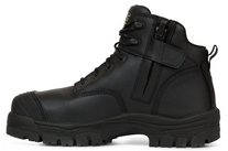 BOOTS OLIVER 45640Z 130MM BLACK ZIP SIDED HIKER PAIR