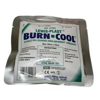 FIRST AID LEWIS-PLAST BURN-COOL GEL DRESSING 10CM X 10CM EA