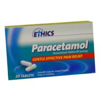 FIRST AID ETHICS PARACETAMOL 500MG 20 PACK