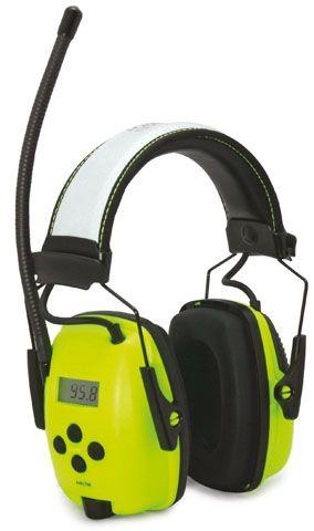 HEARING HOWARD LEIGHT SPERIAN H/L RADIO HI VIS EARMUFF