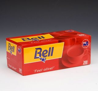 CAFE BELL TEA PURE CEYLON BOX OF 200