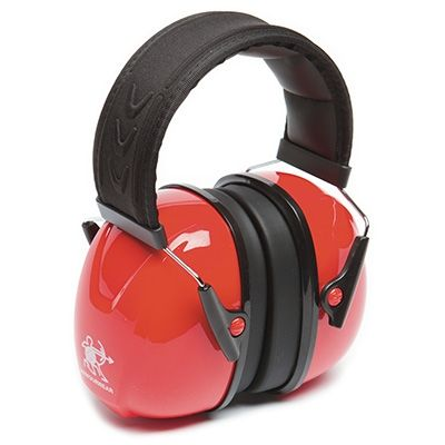 HEARING ARMOURWEAR HEADBAND PREMIUM RED CLASS 5 EARMUFF EA