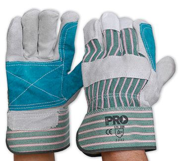 GLOVES PARAMOUNT PREMIUM DOUBLE PALM LEATHER PAIR