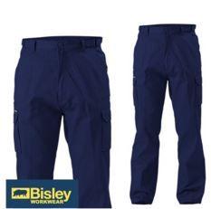 BISLEY CARGO PANTS NAVY
