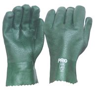GLOVES ESKO PVC GREEN DOUBLE DIP 27CM PAIR
