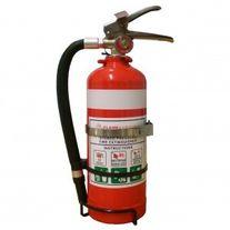 FIRE SAFETY PSL FLAMEFIGHTER 1.5KG ABE FIRE EXTINGUISHER C/W VEHICLE BRACKET EA