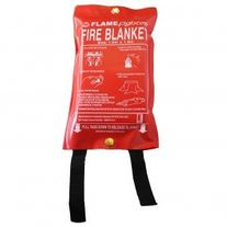 FIRE SAFETY PSL FLAMEFIGHTER FIRE BLANKET 1M X 1M EA