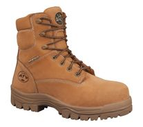 BOOT OLIVER  45632 MIDCUT AT WHEAT LACE UP