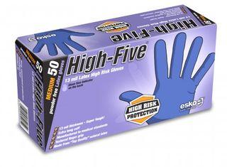 HIGH FIVE HIGH RISK LATEX GLOVE