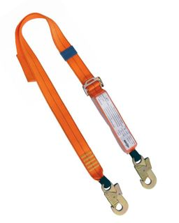 HEIGHT SAFETY QSI ADJUSTABLE LANYARD 2M DOUBLE ACTION HOOKS