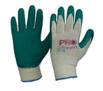 GLOVES 342DG GREEN LATEX RIPPLE PAIR