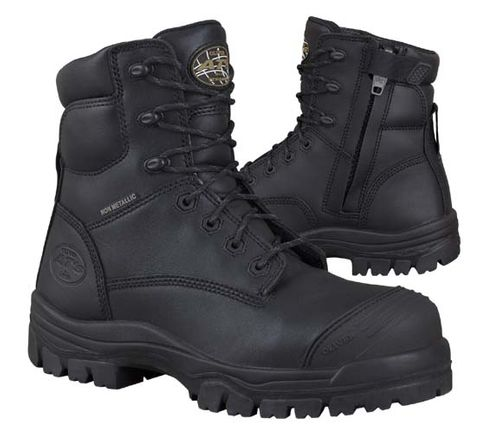 OLIVER 45645Z ZIP LACE UP SAFETY BOOT