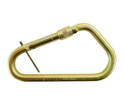 HEIGHT SAFETY QSI CARABINER SCREW STEEL GATE