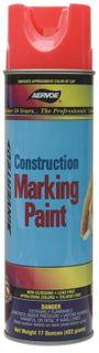 CONSTRUCTION MARKING SPRAY PAINT