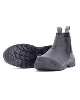 BISON TRADE SLIP ON SAFETY BLACK