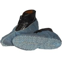 DISPOSABLE DALTON SHOE COVER NON SKID BLUE BOX 1000
