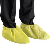 DISPOSABLE  MICROCHEM 3000 SHOE COVERS YELLOW (250PR)