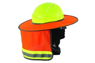 ESKO FULL BRIM HARD HAT SUN SHIELD