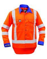 WORKWEAR ARGYLE ARCGUARD NATURAL FIBRES TTMC-W FR 11 CAL SHIRT