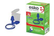 HEARING ESKO EARPLUG BLUE REUSABLE CORDED CL 4 BX 50