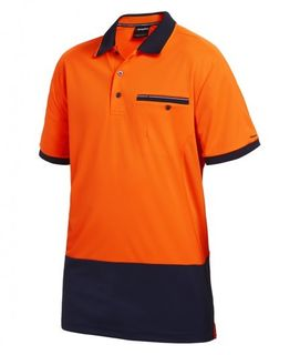 KING GEE HYPERFREEZE POLO SHIRT S/S