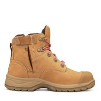 BOOT OLIVER 49 SERIES LADIES LACE UP BOOT WHEAT (UK7) PAIR