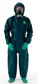 COVERALL MICROCHEM 4000 CHEM SUIT EACH