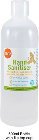 ANTIBACTERIAL HAND SANITISER 500ML