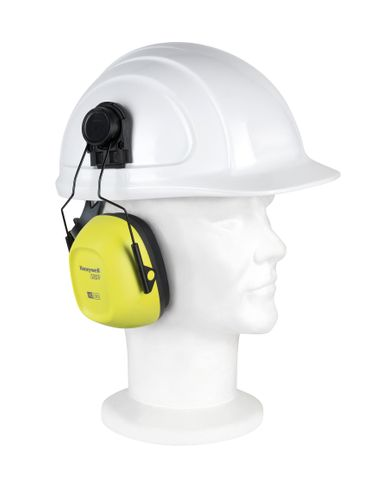 HEARING HOWARD LEIGHT VERISHIELD CAP ATTACHABLE EARMUFF HI VIS EA