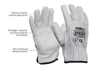 ESKO RIGGER NATURAL GRAIN PREMIUM GLOVES