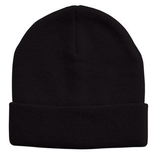 PRIME SOURCE BEANIE ACRYLIC BLACK EA