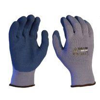 GLOVES SAFE-T-TEC BLUE LATEX RUBBER 2XL