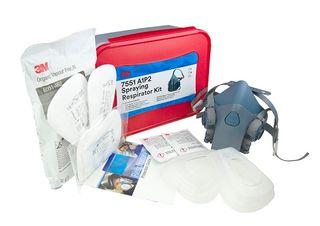 3M 7502 A1P2 Spray Respiratory Kit