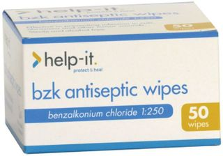 HELPIT ANTISEPTIC WIPES 50 BOX