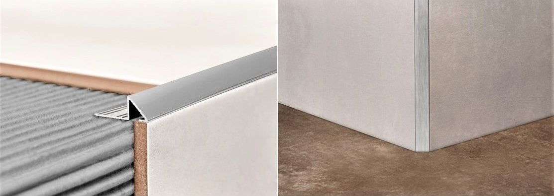 All prism trims by Amark Group gives a stylish beveled edge
