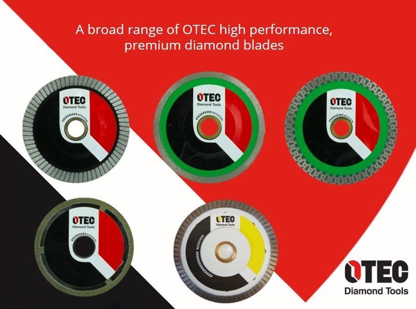 OTEC durable diamond blade