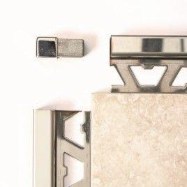 Square Corner Piece Stainless Steel