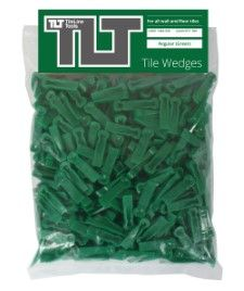 Regular Tile Wedges (Green)