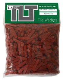 Regular Tile Wedges (Red)