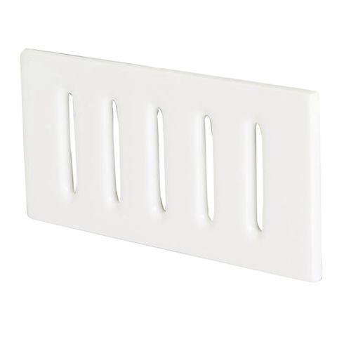 Vents (Pair) 200 x 100mm White