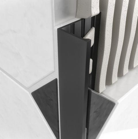 Aluminium Angle - Matt Black