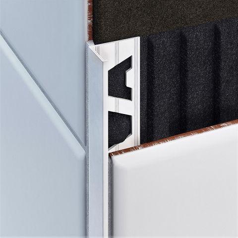 Aluminium Angle - White