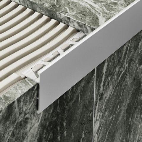 All-Edge Aluminium Matt Silver