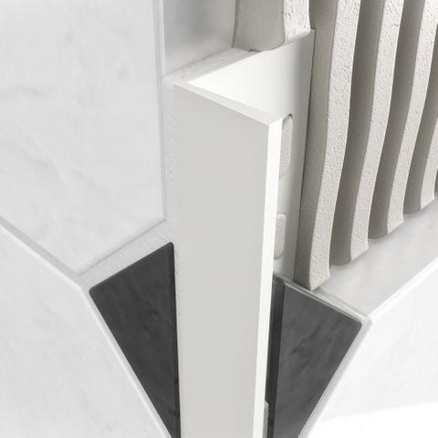 L Profile PVC White