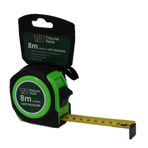 8m x 25mm Tape Measure