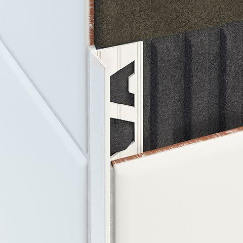 Aluminium Angle - Matt White
