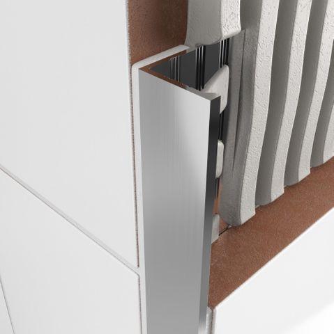 Aluminium Angle - Bright Silver