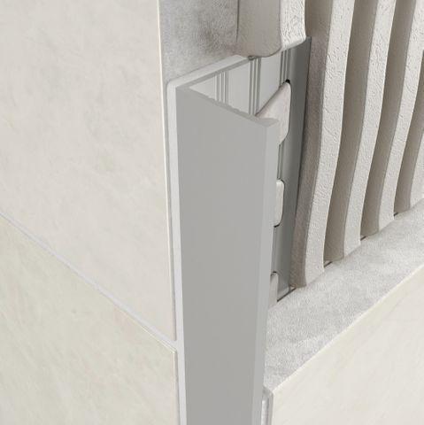 Aluminium Angle - Matt Silver
